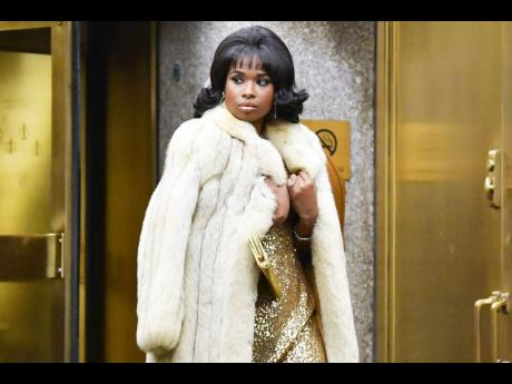 Jennifer Hudson plays Aretha Franklin. It is a role she seems destined to play.