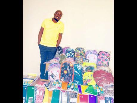 Ibrahim Konteh, executive director of Children of the Diaspora Foundation.