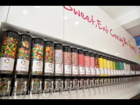 The candy options are endless, with treats, some sweet, some sour, at the new location.