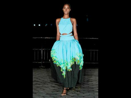 Supermodel Tami Williams slayed the runway in Prabal Gurung. Gurung's collection featured a mix of sporty dresses, loose trouser looks and elegant evening wear.