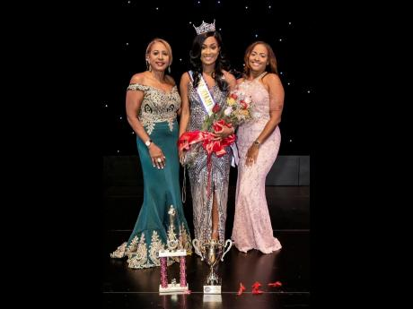 From left: Founder and executive director Yolanda Henry, 2018 Miss Miami Broward Carnival Queen Shemeka Dort, and pageant director Kelly John.