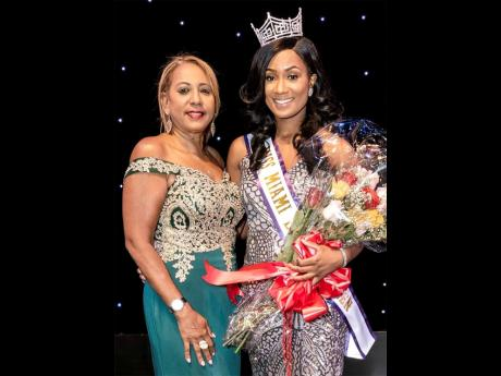 Founder and executive director Yolanda Henry (left) and the 2018 Miss Miami Broward Carnival Queen Shemeka Dort.