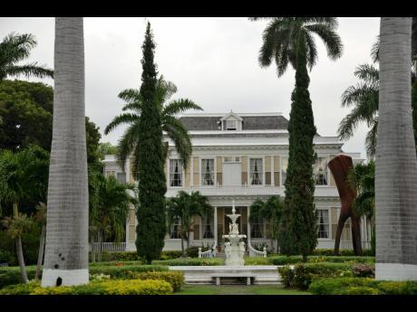 The Devon House mansion in Kingston.