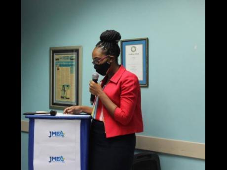 Simara Howell, executive director of the Jamaica Manufacturers and Exporters Association.