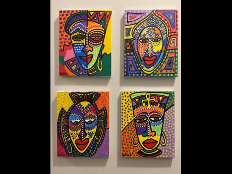 A closer look at Khulula's African Mask Collection.
