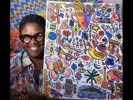 Meet Alisia Jarrett who goes by the creative moniker Khulula and Khulula Art.