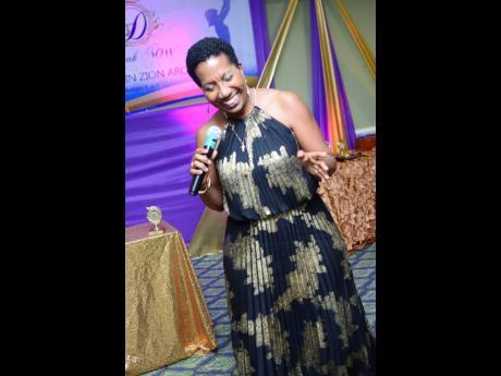 Jamaican songbird, Karen Smith, performing at the Deborah Now Ministries Awards Banquet in March 2019.