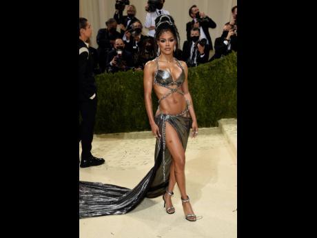 Teyana Taylor attends The Metropolitan Museum of Art's Costume Institute benefit gala.