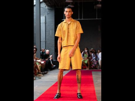 Theophilio's 'wearable biography', like Jamaica's own fashion history, moved between simple and ornate, sexy and structured.