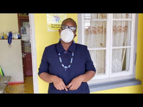 Nadienne Crossman, principal of the Mount Peto Primary School in Hanover, says that most of the parents of students at her school are now out of work.