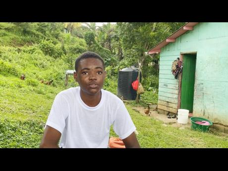Orain Parkin, a 15-year-old youth from Bessie Baker district in Hanover, says he has taken his first COVID-19 shot as he wants to return to school.
