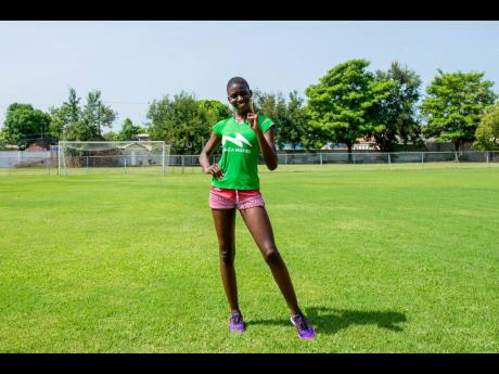 Former student athlete Jamela Rookwood, who wears the sash Miss LP Azar, placed first in the Fast Track Fitness Challenge and is the first contestant to advance to the top five of the Miss Jamaica World 2021 competition.