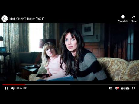 Annabelle Wallis stars in this Warner Bros Pictures, New Line Cinema release, 'Malignant'.