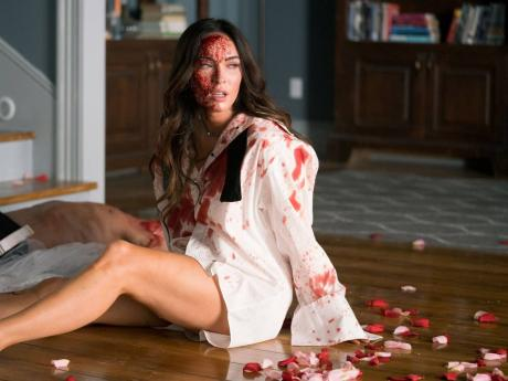 Megan Fox stars as a deluded wife in 'Till Death'.