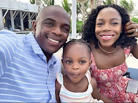 Veronica Campbell-Brown is embracing and loving life off the track with husband Omar and daughter Avianna.