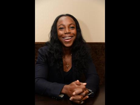 Recently retired Olympian Veronica Campbell-Brown is relishing in her roles as a mother and entrepreneur.