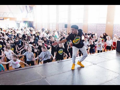 When he's not teaching dancehall classes, Chad 'Global Bob' Torrington and his wife run Ease N Sekkle Yaad.