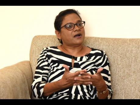 Dr Jacquiline Bisasor McKenzie, Jamaica's chief medical officer.