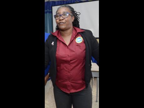 Patsy Edwards-Henry, president of the Nurses Association of Jamaica.