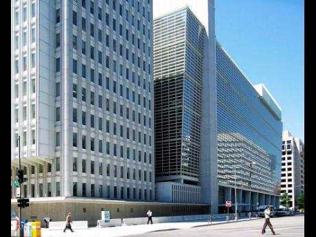 The World Bank Building in Washington, DC.