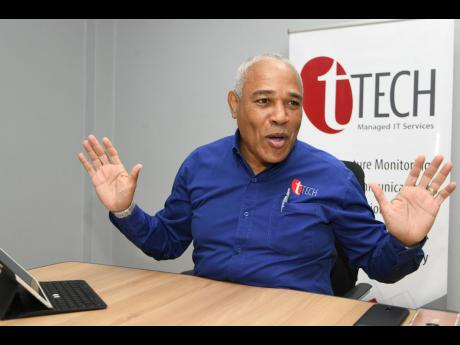 CEO of tTech Ltd Christopher Reckord.