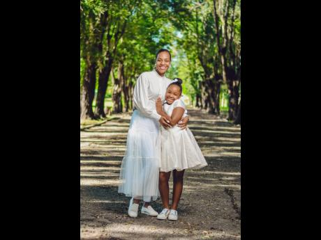 Dr Terri-Karelle Reid and daughter, Naima-Kourtnae.