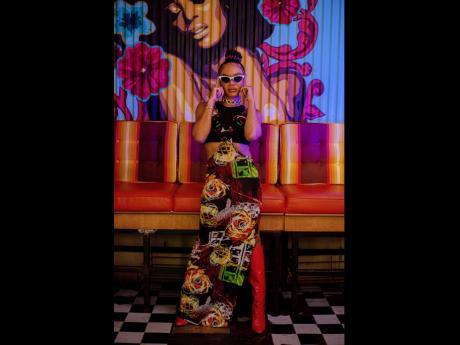 Jamaican-American designer Sammy B always incudes her Jamaican culture in her designs.