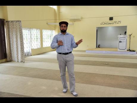 Tariq Azeem, imam of Ahmadiyya Muslims Jama'at.