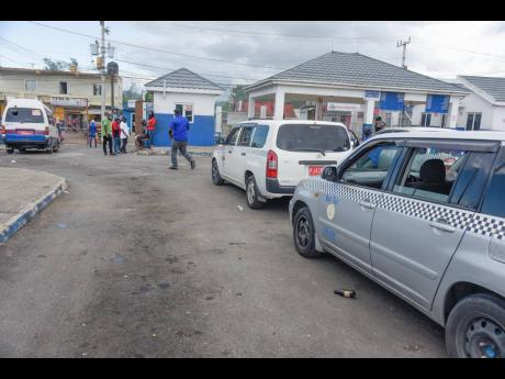 Taxi operators in Linstead are adamant that they will not be taking  any of the COVID-19 vaccines.
