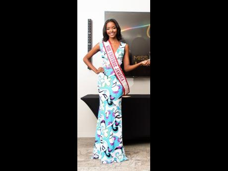 Reigning Miss Universe Jamaica Miqueal-Symone Williams understood her assignment and came out dressed for the occasion to hand out the golden tickets.