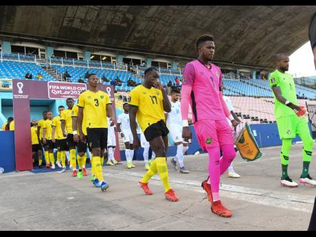 Players from Jamaica and Panama head to the playing field for their Concacaf World Cup-qualifying match at the National Stadium in Kingston on Sunday, September 5. Football's world governing body, FIFA, is proposing changes to its World Cup Finals compet