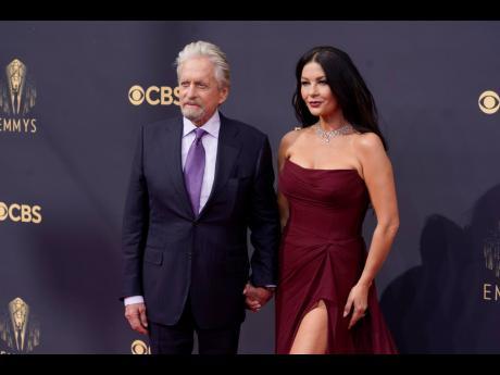 Michael Douglas and his wife Catherine Zeta-Jones.