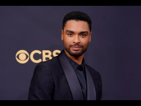 Regé-Jean Page turned heads at the Primetime Emmy Awards.