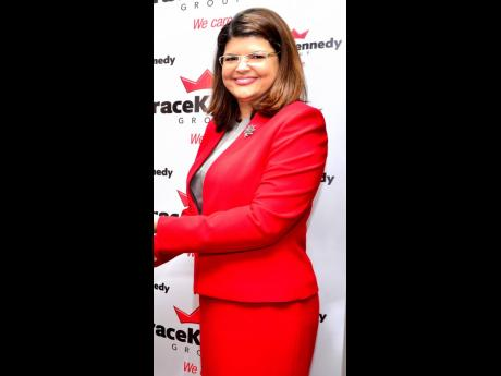 Cathrine Kennedy, general manager of Hi-Lo Food Stores Limited, a GraceKennedy subsidiary.