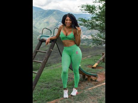 Nigerian-Jamaican singing sensation Barbee is serious about fashion and fitness, and her activewear designs are made so that women can feel and look their best while working up a sweat.