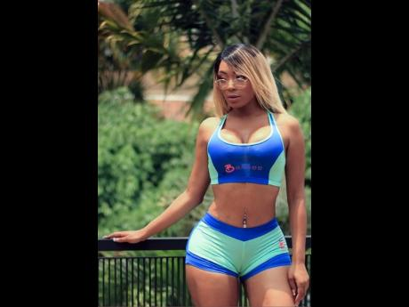 The sports bras and shorts from Barbee Bratz are designed in different lengths, depending on the coverage a woman wants.