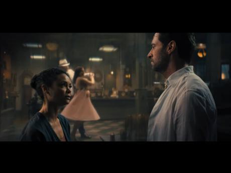 Hugh Jackman and Thandiwe Newton star in 'Reminiscence'.