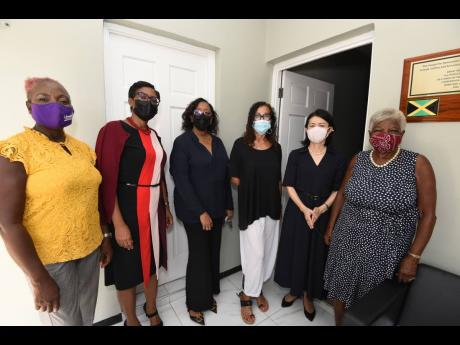 CIBC FirstCaribbean and Women's Leadership Initiative (WLI) partnered with other donors to furnish the transition home recently completed by Woman Inc for the benefit of abused women. The Embassy of Japan in Jamaica facilitated the refurbishing of the bu