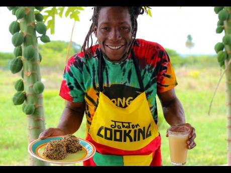 Reggae artiste Jahdon has adopted a vegan lifestyle and finds himself experimenting a lot with wild rice and quinoa.