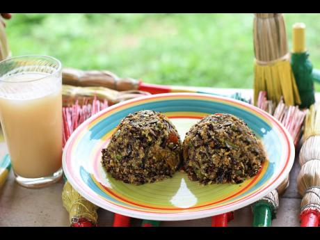 The wild rice and quinoa each absorb flavours differently, but blend so well with Jamaica's national fruit.