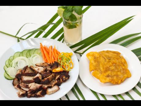 Starting out as a traditional jerk centre, Our Place has kept jerked pork and other jerk dishes as part of its current menu.