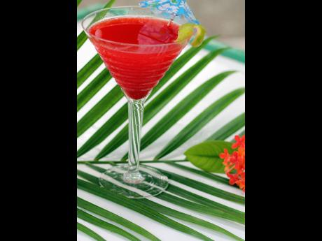 The strawberry margarita is a fruity fiesta that makes it a favourite summer cocktail.