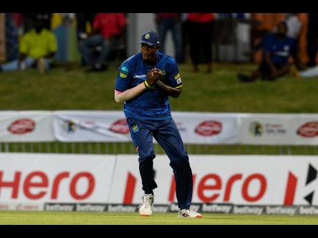 Jason Holder in action with the Barbados Royals during the Hero Caribbean Premier League in St Kitts and Nevis on August 26.