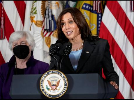 Vice President Kamala Harris will appear on the daytime talk series 'The View' on Friday.