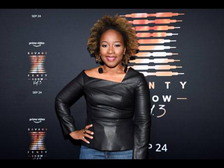 Amazon Prime Video and Studios chief marketing officer Ukonwa Ojo attends Rihanna's Savage X Fenty Show Vol. 3 premiere on Wednesday.