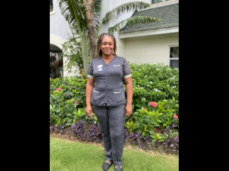 Housekeeping supervisor Abby-Gale Desouza is always on the go, but on this rare occasion we were able to catch up with her before the start of her shift and experience her vibrant smile.