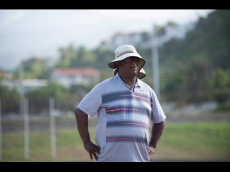 MVP Track Club head coach Stephen Francis.