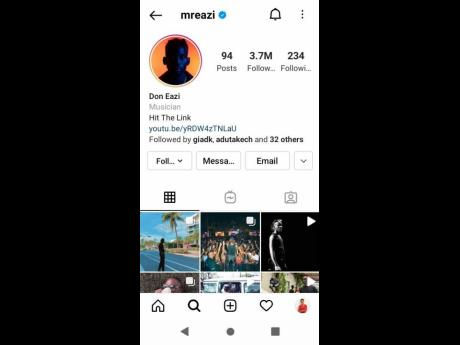 """With 3.7 million followers on Instagram alone and his posts securing thousands of """"likes"""", Nigerian singer Mr Eazi's popularity on social media is unquestionable."""