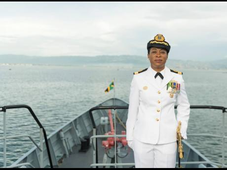 Commodore Antonette Wemyss-Gorman, who is to become Jamaica's first woman chief of defence staff next January.