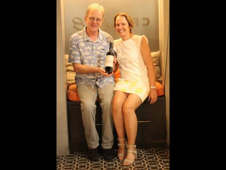 One's a wine enthusiast, the other is a foodie; the Pragnells, Matthew and Jenny, make a great pair.